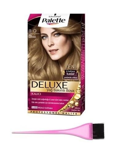 Palette Palette Deluxe 80 Bal Köpügü SaÇ Boyası ve SaÇ Boyama Seti Renksiz